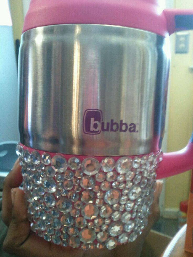 Bling Glam Bubba Cup. Anytime weekend ready. I love my crafts :-)