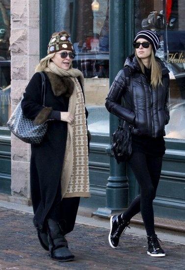 Celebrities Winter Style 2011