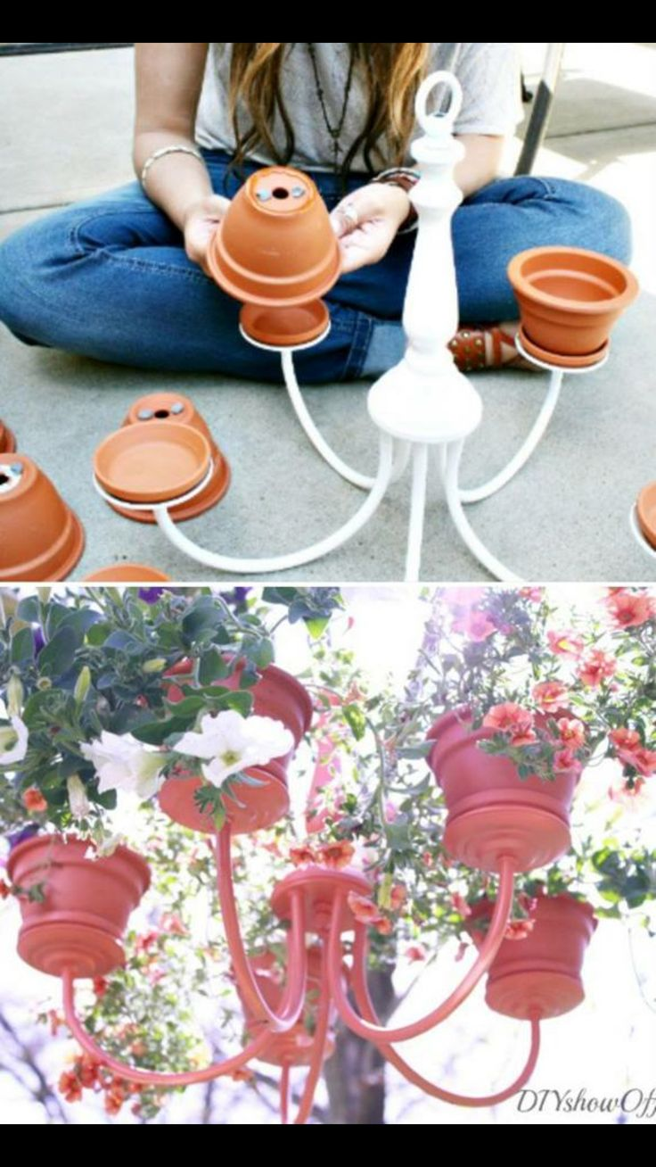 Chandler planters. How cute is this!