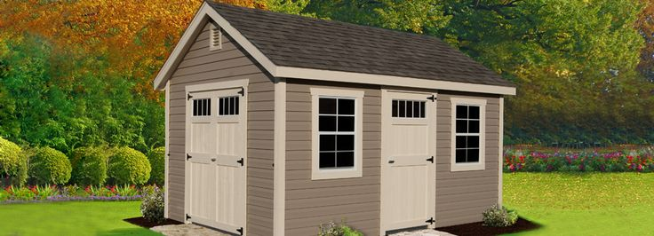 Storage Sheds | Pre Built Sheds | Backyard and Outdoor Sheds USA ...