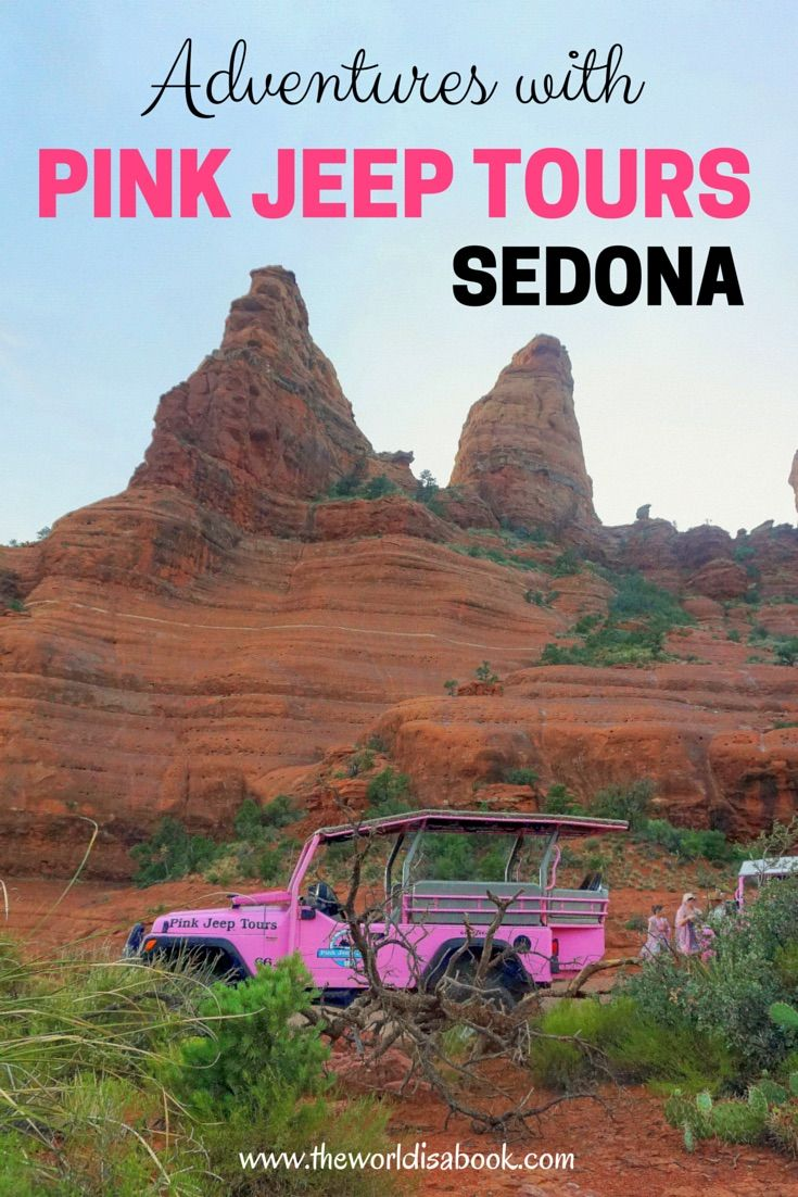 Pink Jeep Tours Sedona