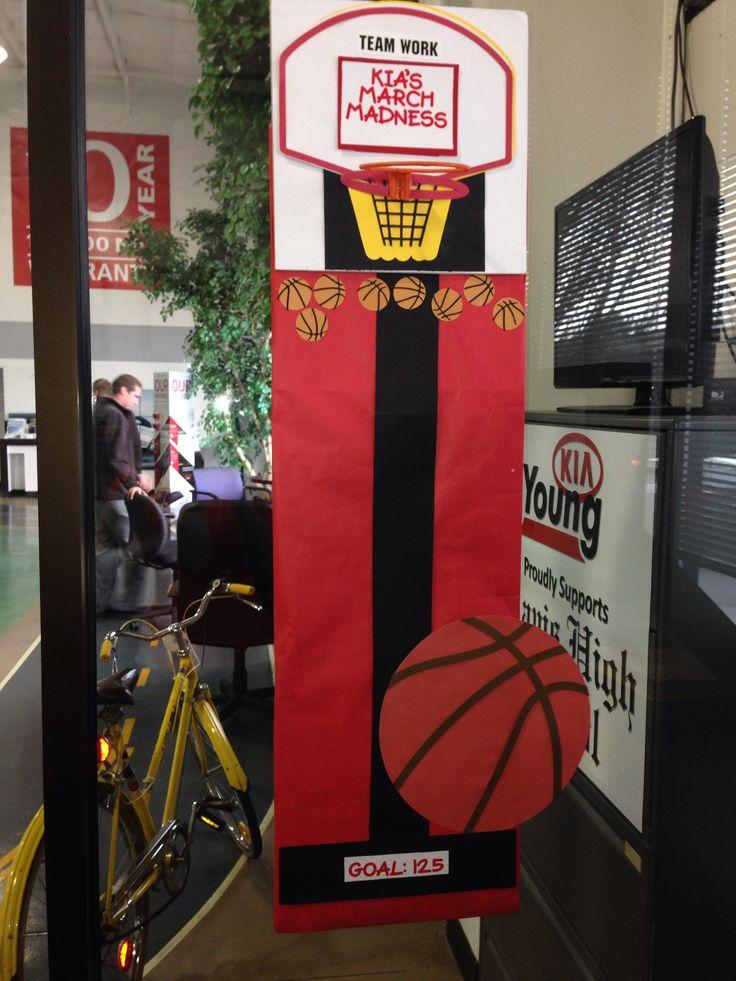 basketball door decorations | Decoratingspecial.com