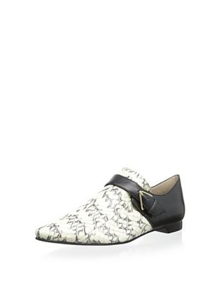 66% OFF 10 Crosby Women's Roland Loafer with Buckle (Black/White)