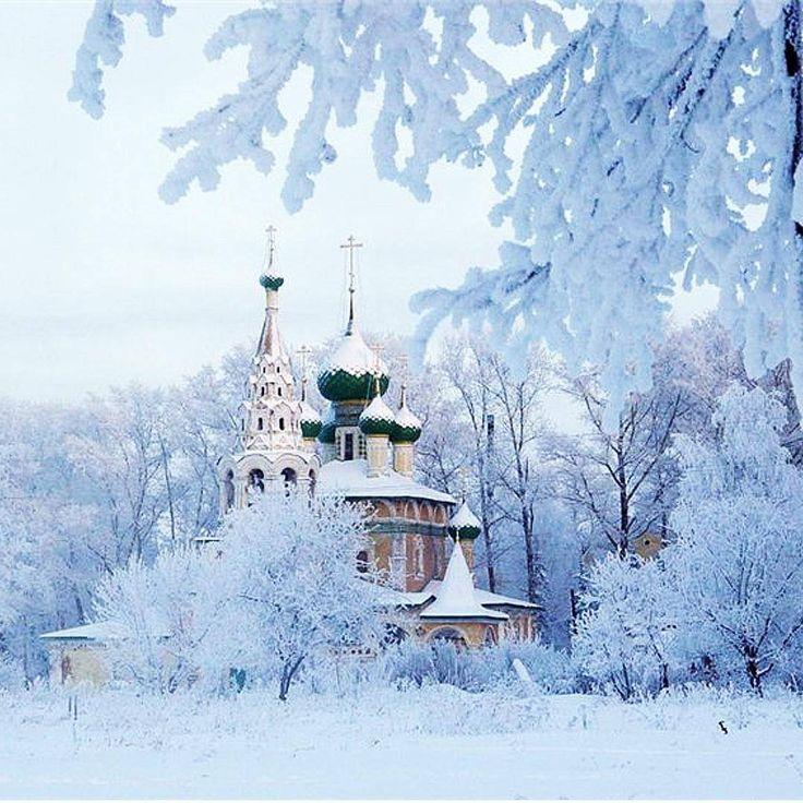 открытка снег в россии виде гирлянды