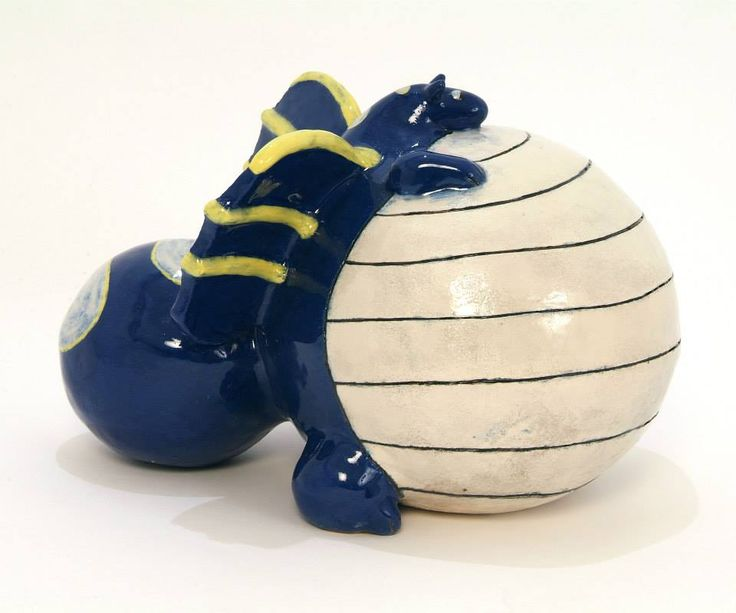 Ceramic fat dragon sculpture. I have always been interested in dragons and other mythical animals. I make my fat dragons in other colours too.