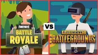 Fortnite Vs Pubg Which Battle Royale Is The Best Fortnite Videos