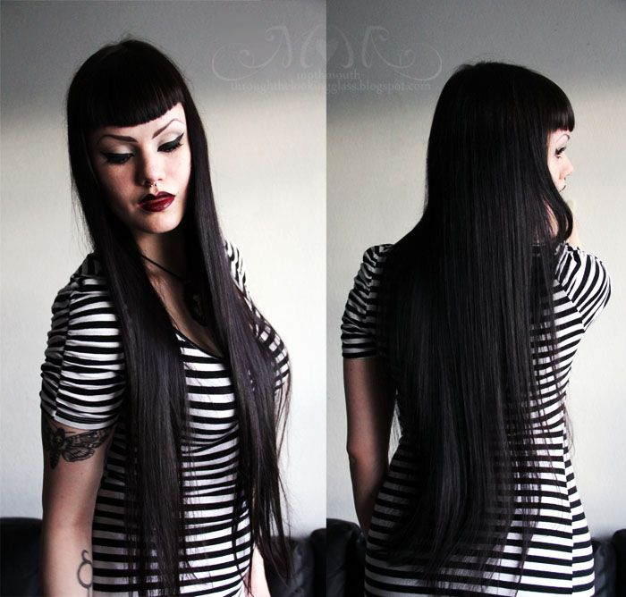 Amazing 1000 Images About Hair On Pinterest Goth Goth Girls And Short Hairstyles Gunalazisus