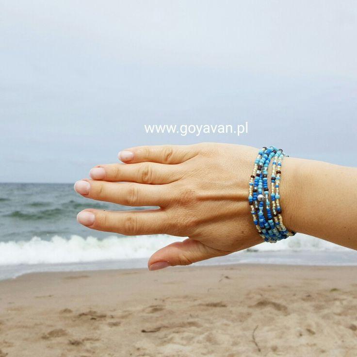 Kolory bransoletki idealne na wakacje #bransoletka #goyavan