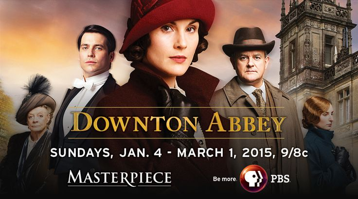 Downton Abbey......I enjoy watching Dowton Abbey every season!  Actually love it.