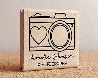 foto personalizada por estampilla estampilla de fotógrafo