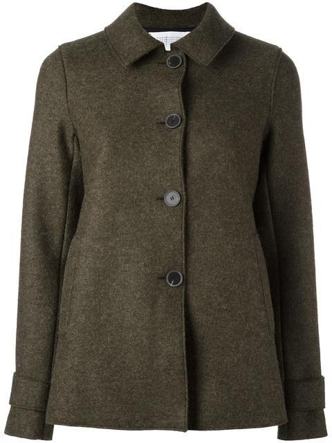 HARRIS WHARF LONDON buttoned jacket. #harriswharflondon #cloth #纽扣夹克