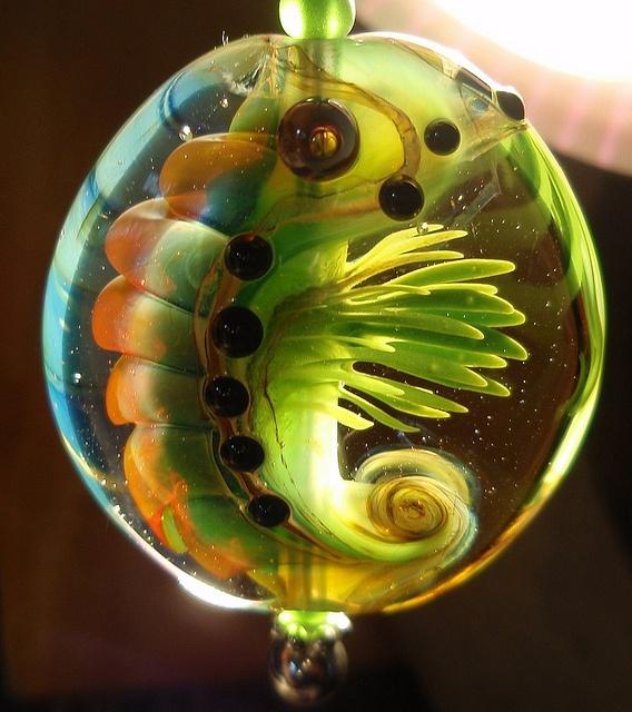 grüner Krill by klinkekuler, via Flickr