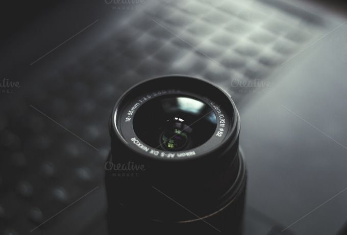 Check out DSLR Camera Zoom Lens by Shots By RC on Creative Market
