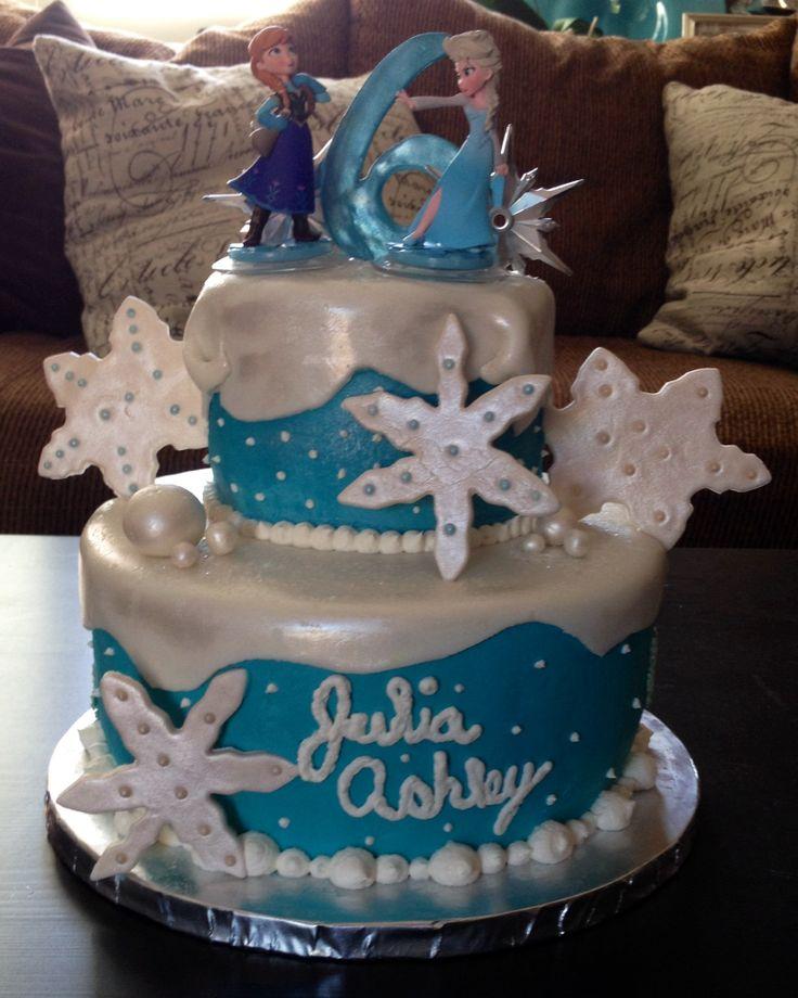 Frozen Birthday Cake Ideas Pinterest