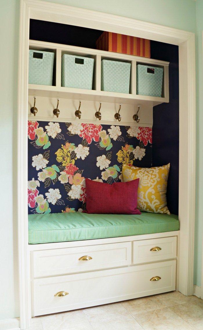 Best 25+ Closet bench ideas on Pinterest | Entryway closet ...