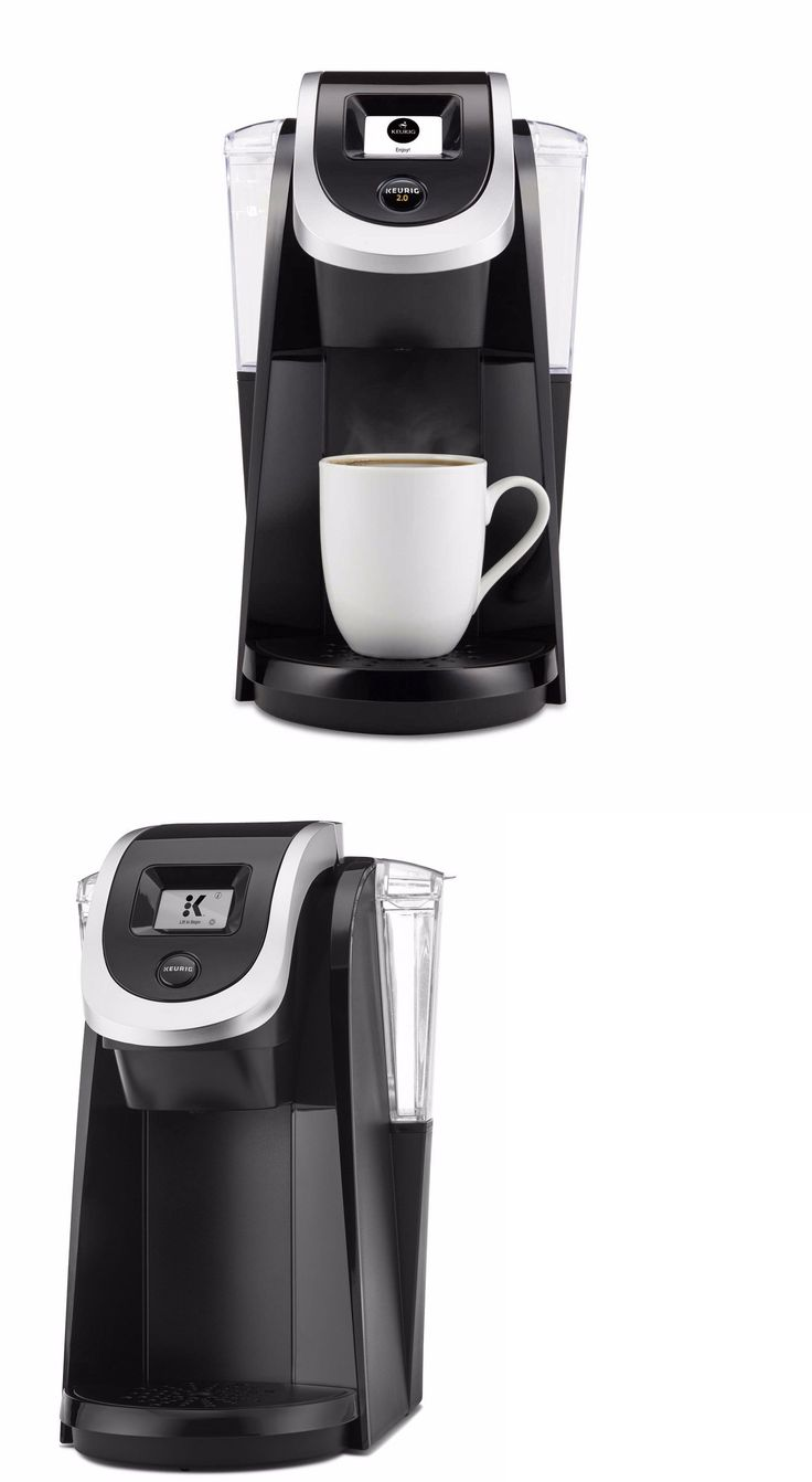 Single Serve Brewers 156775: Keurig K250 2.0 Plus Single Serve Programmable K-Cup Pod Coffee Maker Black New -> BUY IT NOW ONLY: $65.99 on eBay!