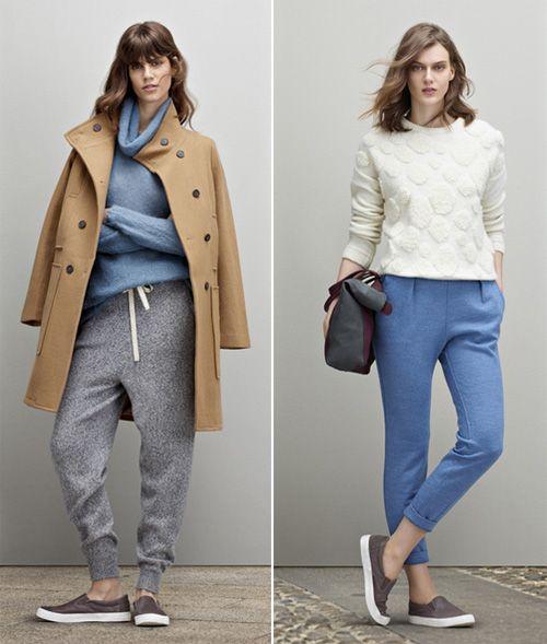 Stefanel Fall Winter 2014-2015: casual trendy look