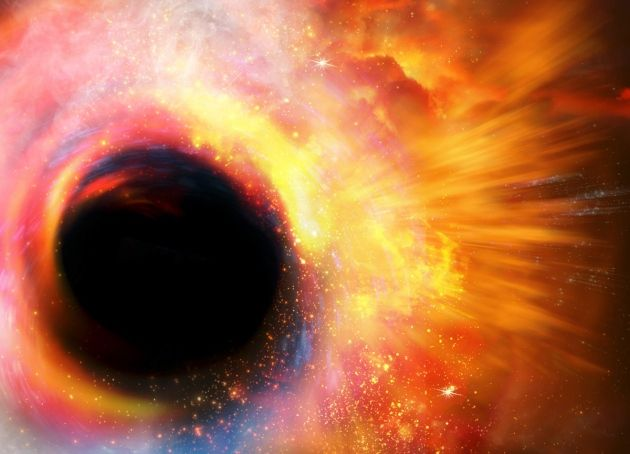 Stephen Hawking: 'There are no black holes' : Misleading headline. Hawking does NOT claim there are no black holes. Indeed, he claims the event horizon is not a firewall line in space but rather an 'apparent horizon'  which only temporarily holds matter and energy prisoner before eventually releasing them. Alright.