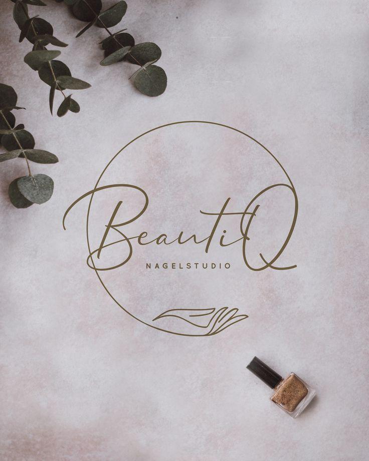 Logo // BeautiQ // Nagelstudio // Nagelstudio // B … – #BeautiQ #logo #Nagelstu … – Kochen