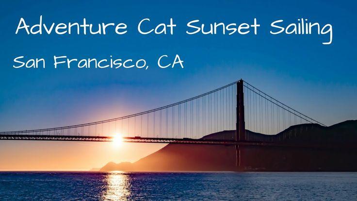 nice Experience Cat - San Francisco Catamaran Sunset Sailing Video