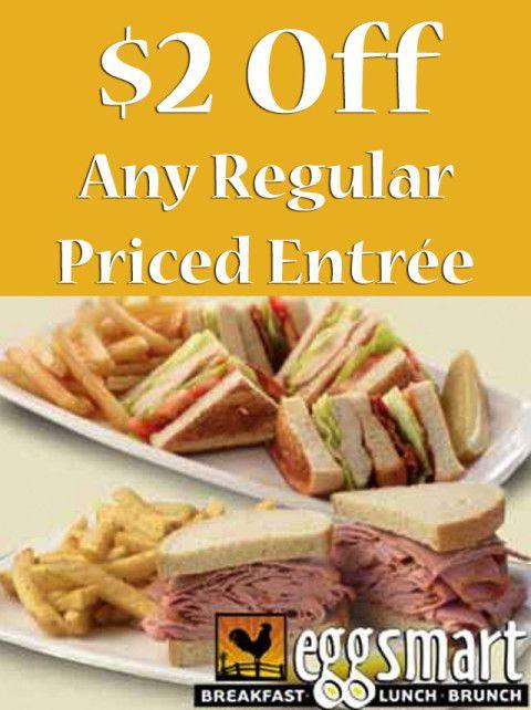 Eggsmart North York — $2 Off Any Regular Priced Entrée #deal #savings #deals #BurlON #northyork #toronto #coupon #restaurant #ontario #food #drink #seecows