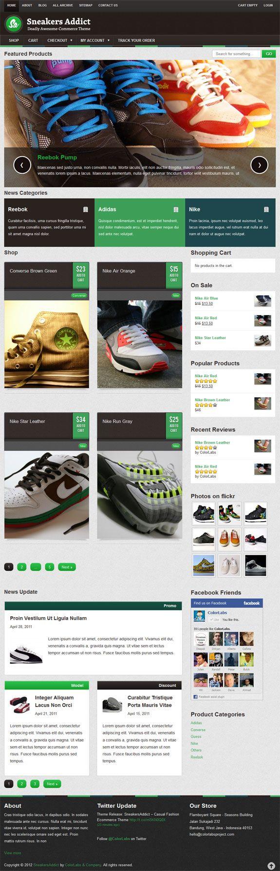 Best Premium Theme For #e-commerce Website