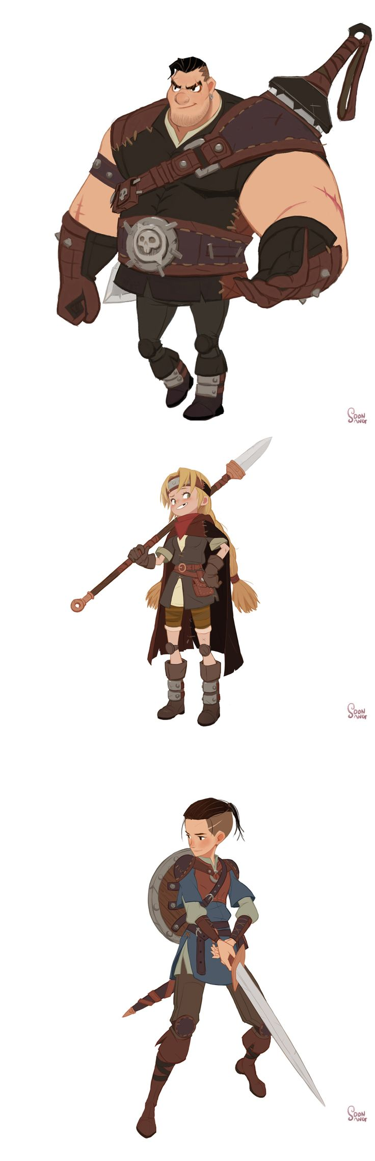 "Robin hood -""The prince of blood"" on Behance by Hong Soonsang"