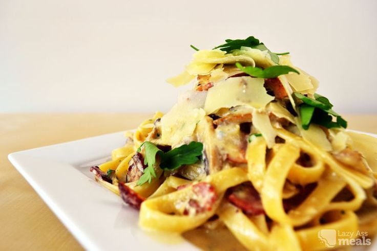 This a tasty and easy carbonara recipe you can whip up quickly after a long day at work or just as a great meal on the weekend.