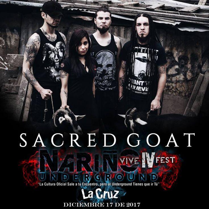 SACRED GOAT en Nariño Vive Underground - IV Fest