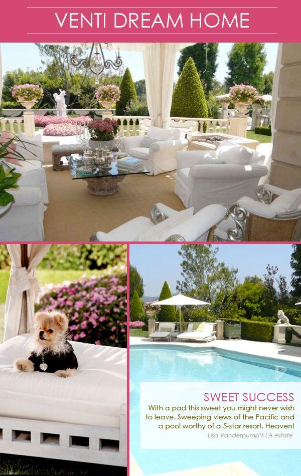 Lisa Vanderpump's Villa Rosa. Dream home.