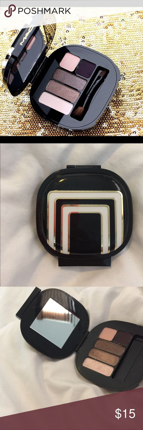 Stroke of Midnight Cool Shades MAC palet 100% authentic. Used once, beautiful colors. All makeup can be bundled 2+ 30% 3+ 50% MAC Cosmetics Makeup Eyeshadow