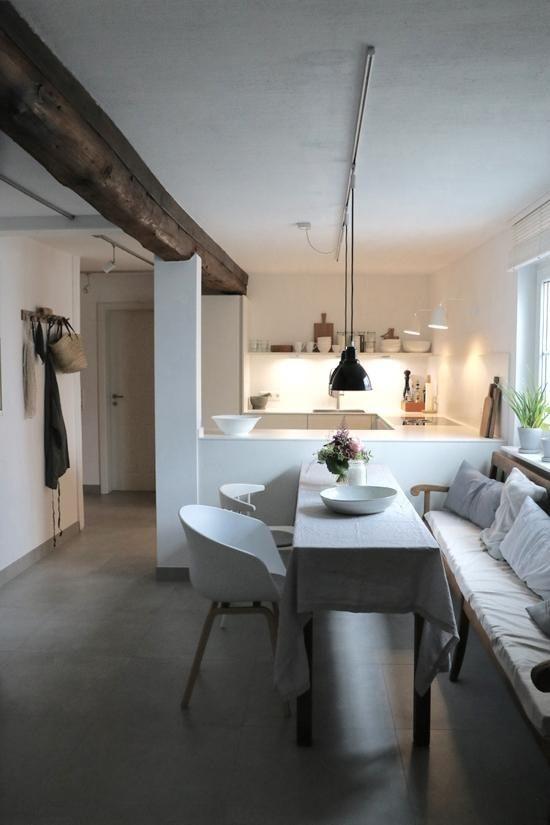 #küche #vintage #scandinavian #offeneküche #wohnküche