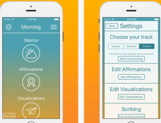 TMM App the miracle morning - morning ritual routine