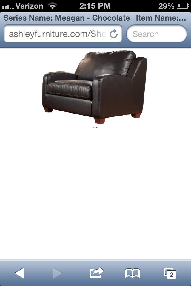 www.ashleyfurniture.com chair and a half with sleeper