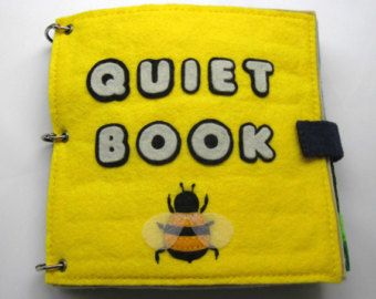 Christmas Quiet Book Quiet Book Toddler Activity by QuietBookToys