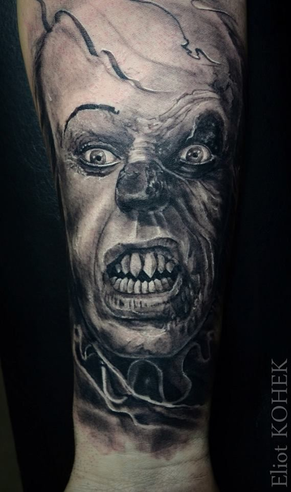 ça clown tattoo