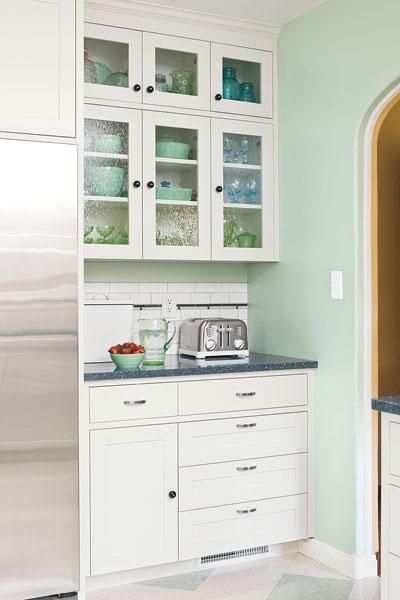Color Of The Month May 2014 Hemlock Green KitchenKitchen