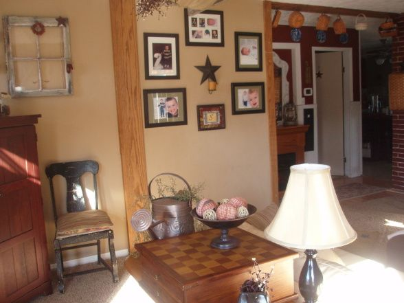 Primitive decorating ideas for living room pinterest for Primitive decorating ideas for living room