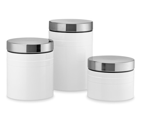 hmmmmm: Canisters Sets, Canisters Labels, Inspiration Canisters, Hampton Kitchens, Black White, Lb Kitchens, Wesco Canisters, Kitchens Kitchens, Canisters Williamssonoma