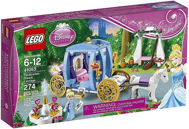 Disney Princess Lego Set Cinderella's Carriage