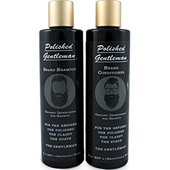 Beard Growth and Thickening Shampoo and Conditioner - Beard