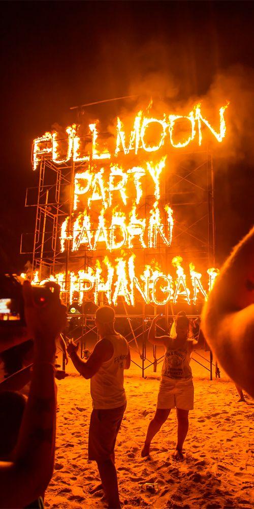 Full Moon Party; Koh Phangan, Thailand