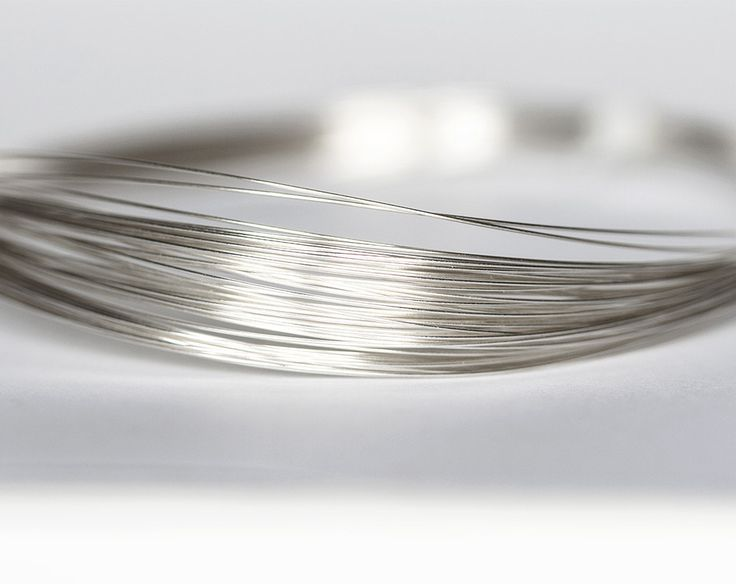 2155_Silver filled wire 26 gauge, Jewelry wire 0.4mm, Half hard wire for jewelry, Wire wrap, Thin craft wire, Silver round wire, Wrapping_2m by PurrrMurrr on Etsy