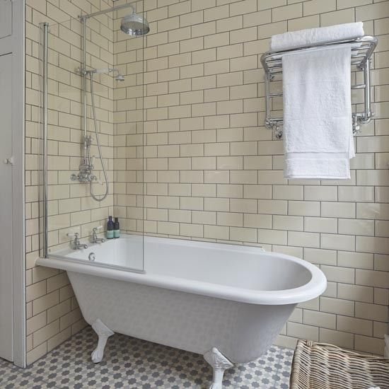 Bath With Shower | Take A Look At This Brilliant Bathroom Transformation |  Housetohome.co