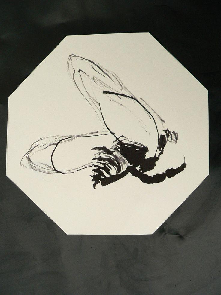 Helmut Heinze 2013 - Bee drawing - Bienenzeichnung www.heinzeart.de