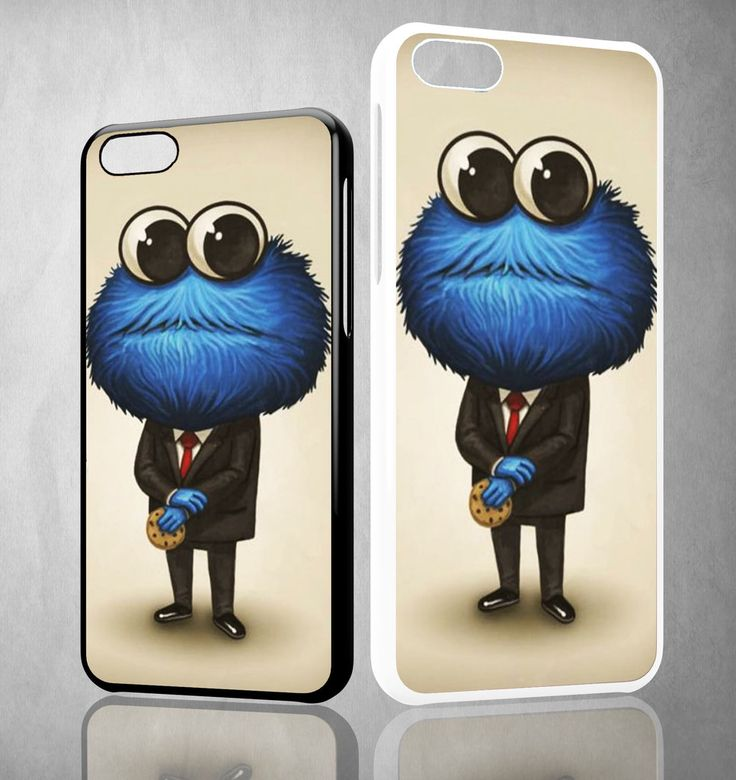 cookie monster art Y1311 iPhone 4S 5S 5C 6 6Plus, iPod 4 5, LG G2 G3 Nexus 4 5, Sony Z2 Case
