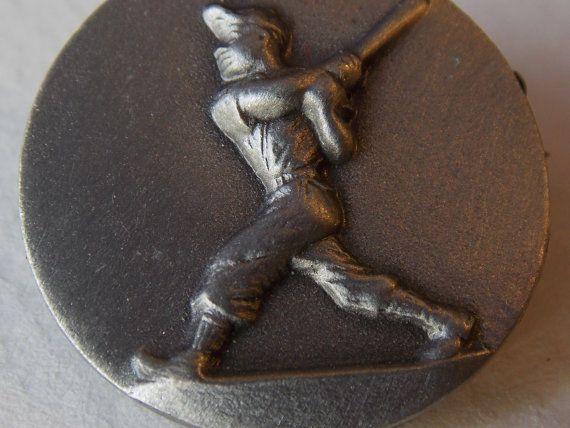 Baseball Badge Metal Badge Sports Badge