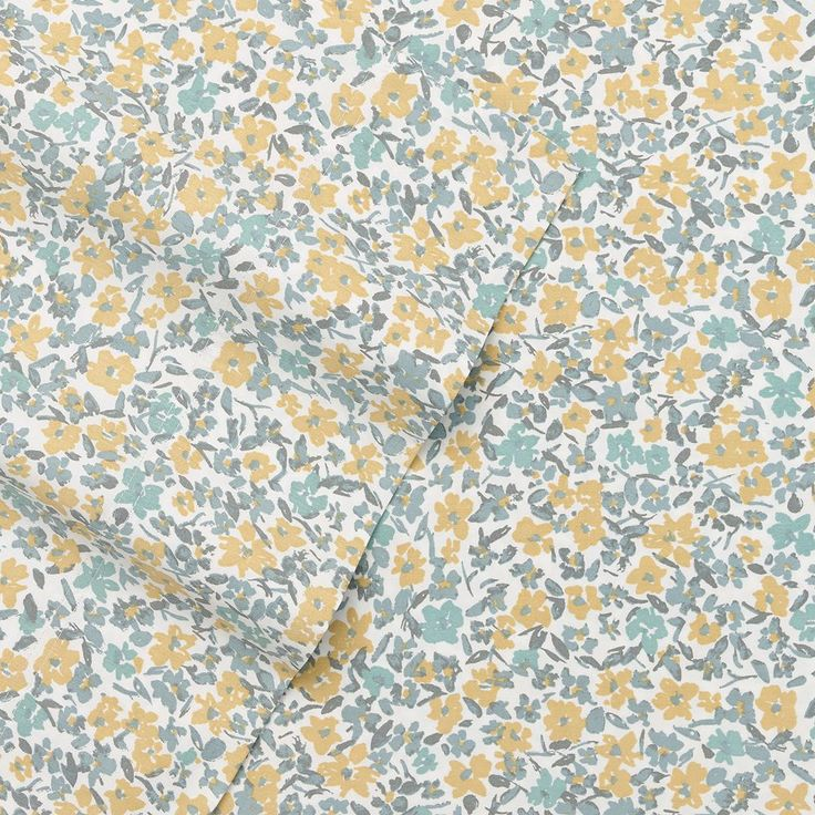 SONOMA Goods for Life™ 400-Thread Count Sateen Sheets, Yellow Queen