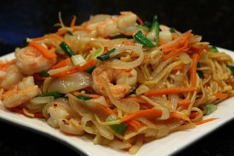Main, CM37, Rice and Noodle, Chow Mein,  Prawn Fried Noodle, Chinese