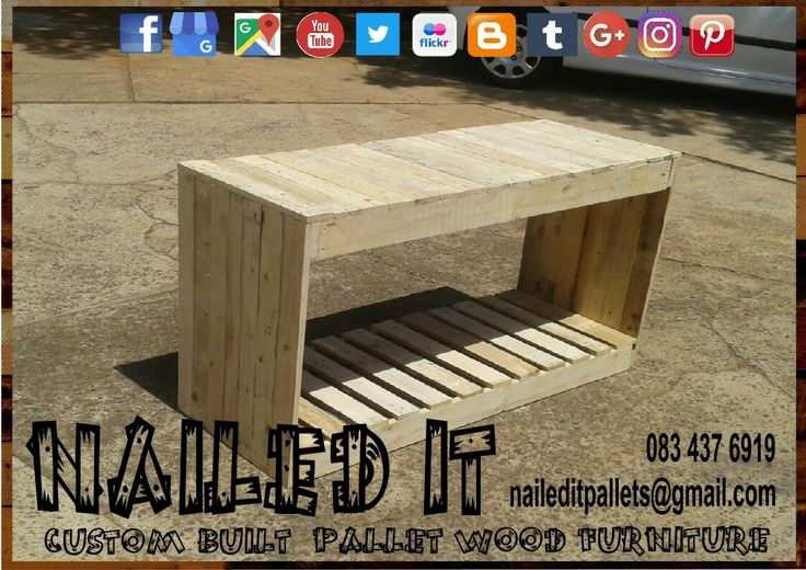 Pallet wood multi-purpose table #palletfurniture #pallettable #palletwoodtable #palletfurnituredurban #palletwoodfurniture #palletwoodfurnituredurban #custompalletfurnituredurban #custompalletfurniture